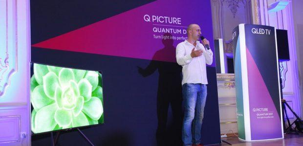 Tweet Tweet Samsung Electronics представи новата категория телевизори QLED – Q9, Q8, и Q7 – на стилно събитие в България. QLED телевизорите предлагат драстично подобрена производителност, с точно пресъздаване на […]